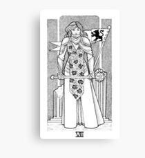 Tarot: Strength Canvas Print