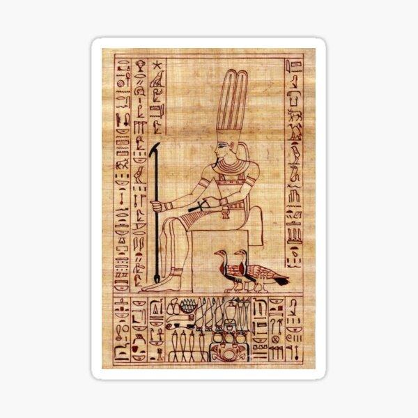 Homage to Amun Sticker