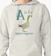 A is for Asparagoose Pullover Hoodie