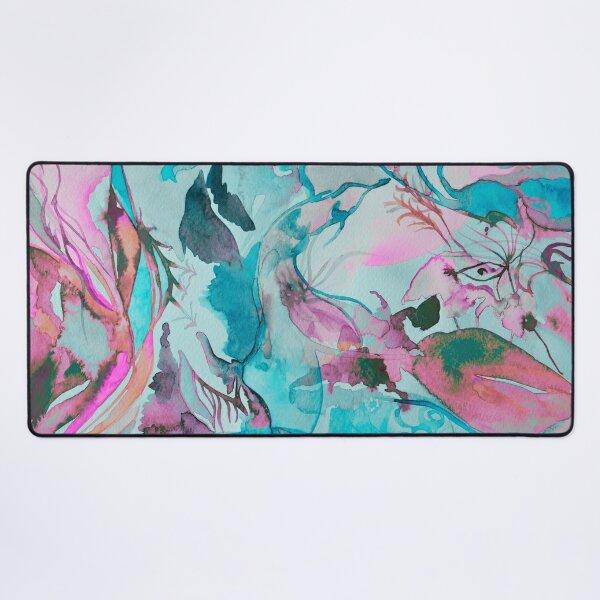 Silver Dragon Skin Desk Mat