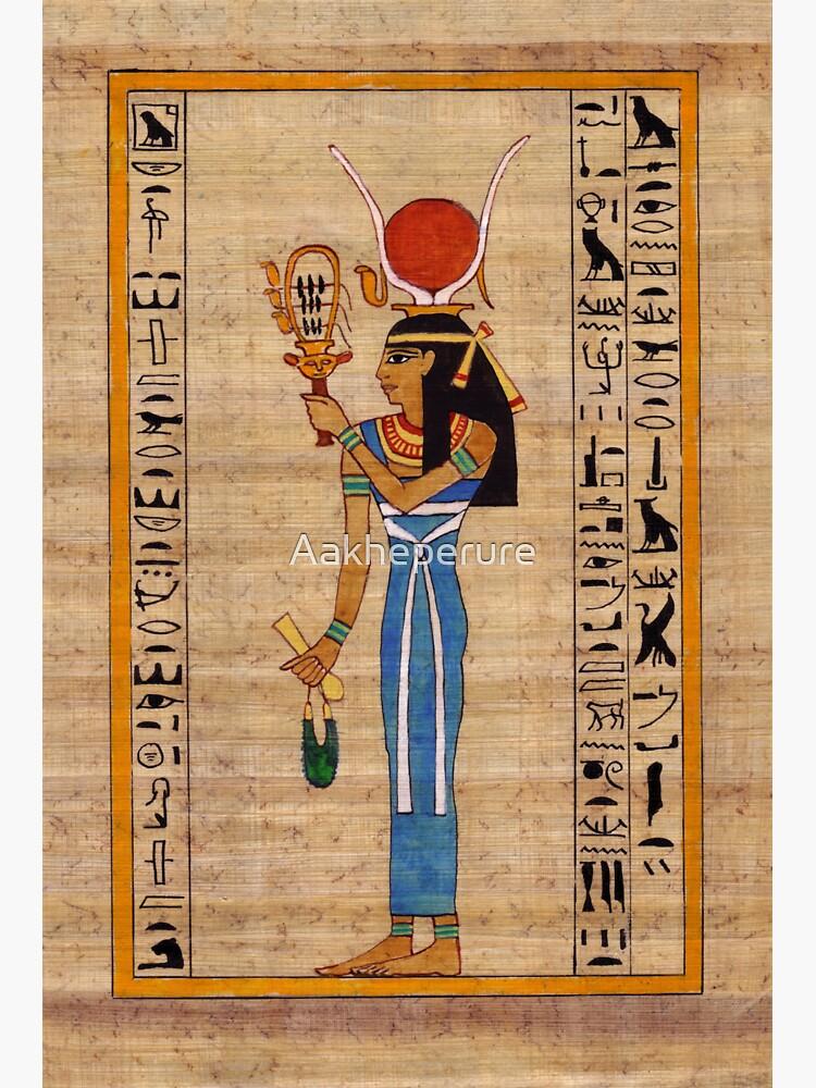 Hathor, Lady of Amentet by Aakheperure