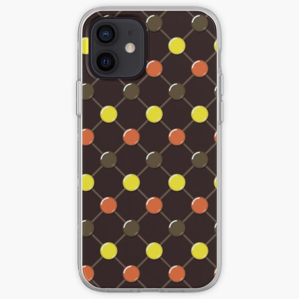 Candy Dot Pattern iPhone Soft Case