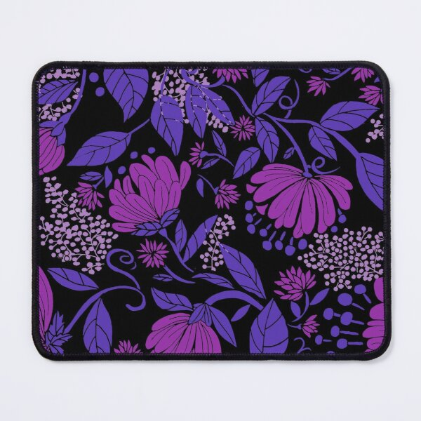 Moody Floral Mouse Pad