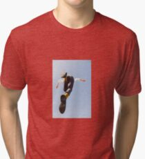 Flying Man - Contemporary Photography Tri-blend T-Shirt