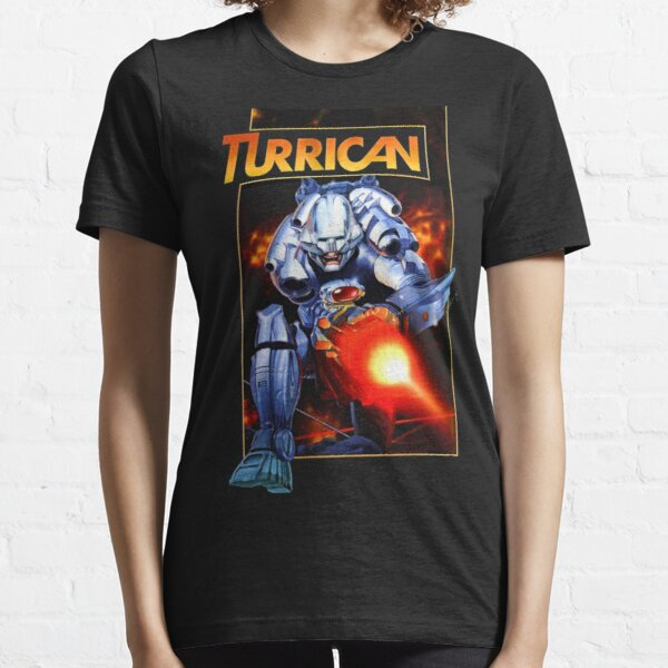 Turrican (Transparent) C64 Essential T-Shirt