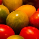 Heirloom Tomatoes by rumimume