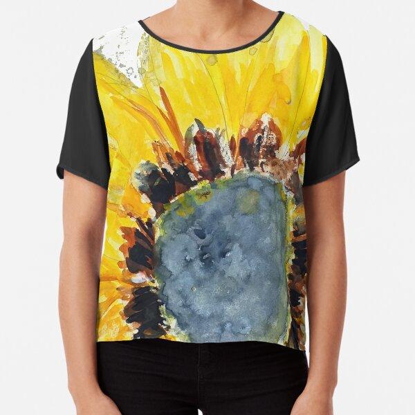 Sunflower01 Chiffon Top