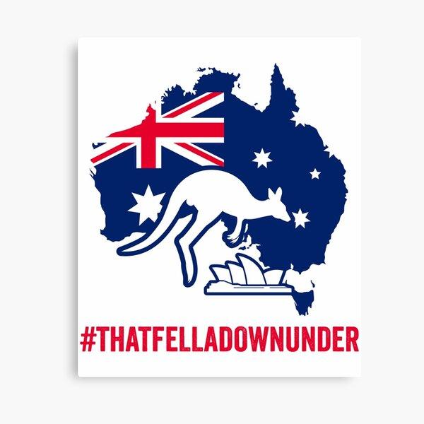THAT FELLA DOWN UNDER Australian Prime Minister Canvas Print