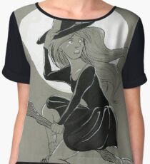 Fly by the Moon Chiffon Top