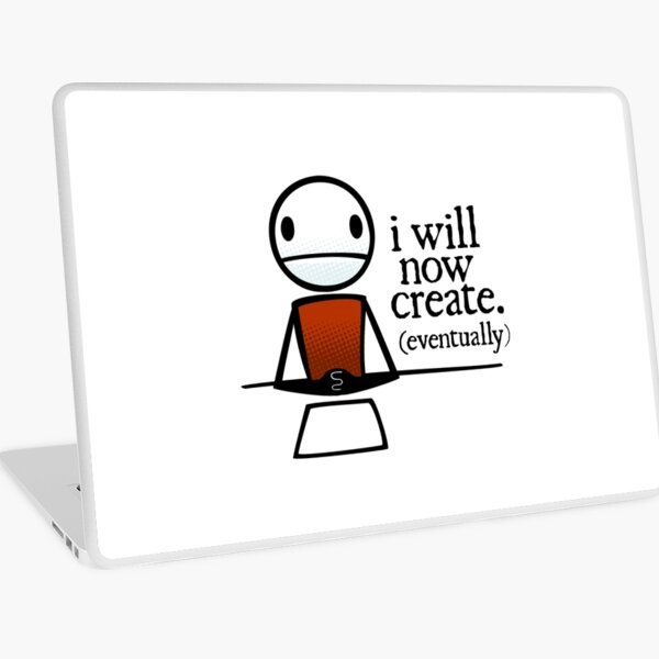 """TheMeatly - """"I Will Now Create"""" Laptop Skin"""