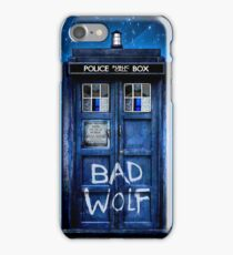 Space And Time traveller Wolf iPhone Case/Skin