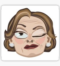 Lucille Bluth Winking from Arrested Development Sticker