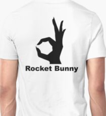 Rocket Bunny - Black Unisex T-Shirt