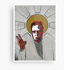 Christopher Hitchens Metal Print