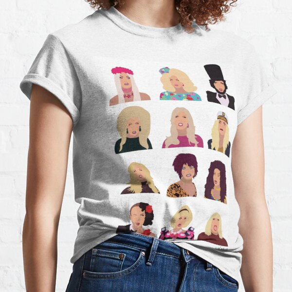 Katya Zamolodchikova - the faces of season 7 Classic T-Shirt