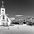 Church in Black and White by George Lenz