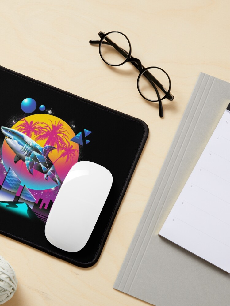 Alternate view of Rad Shark Mouse Pad