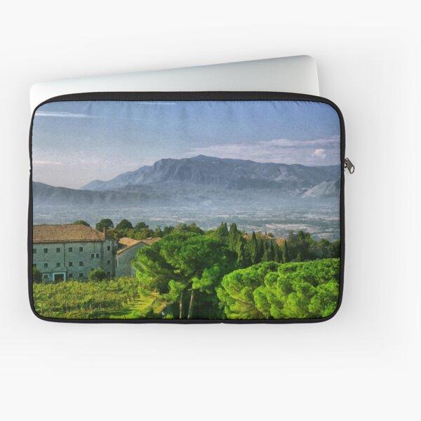 Vineyard in Monte Cassino Laptop Sleeve