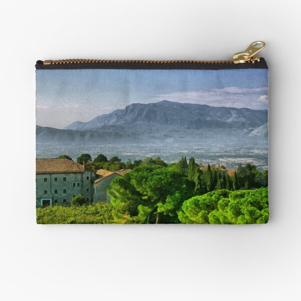 Vineyard in Monte Cassino Zipper Pouch