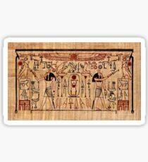 Set Gives Life: Stela of Thutmose I Sticker
