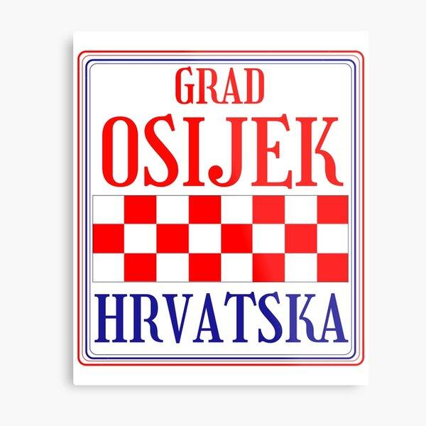 Croatian City of Osijek Metal Print