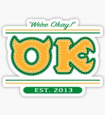 Oozma Kappa Spirit Wear Sticker