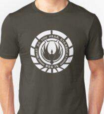 What Do You Hear, Starbuck? Unisex T-Shirt
