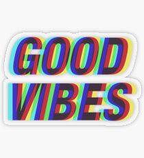 Gute Stimmung Techicolor Transparenter Sticker