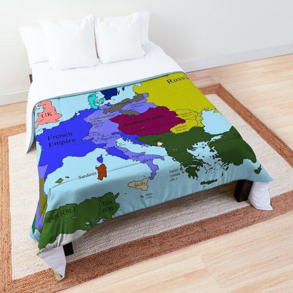 Europe 1812 Comforter