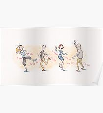 The Chicken Dance from Arrested Development Poster
