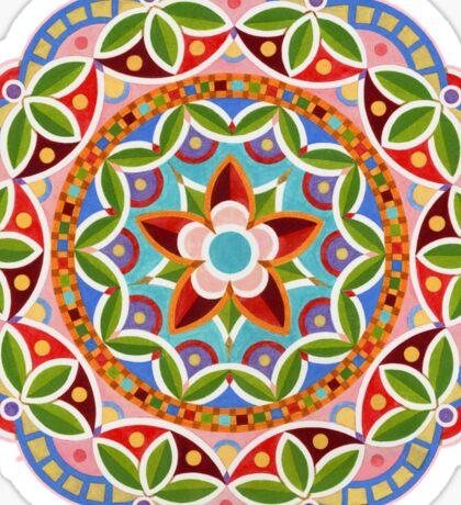 Fiesta Mandala Sticker