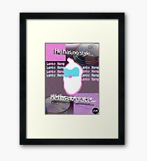 LankyWave.mp3 Framed Print