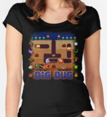 Dug Dig Women's Fitted Scoop T-Shirt