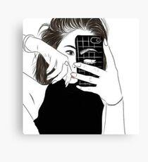Ladies Style Canvas Print
