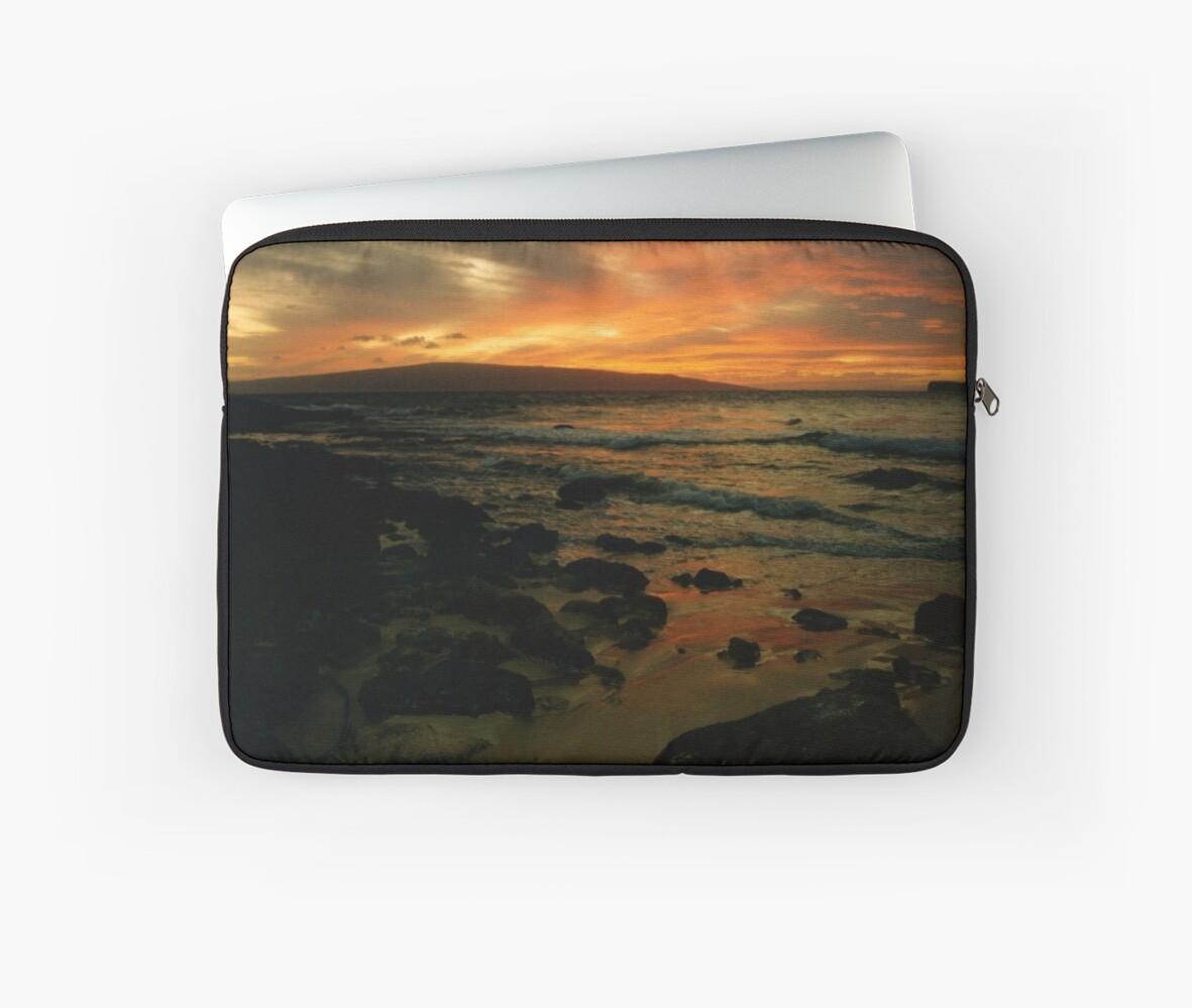 Maui Sunset by Michael  Moss