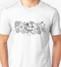 Spring Time B/W Unisex T-Shirt