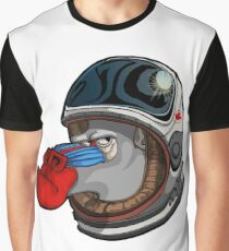 Space Mandrill Graphic T-Shirt