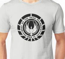 What Do You Hear, Starbuck? (Black) Unisex T-Shirt