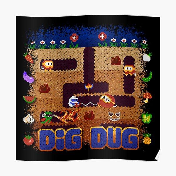 Dug Dig Poster