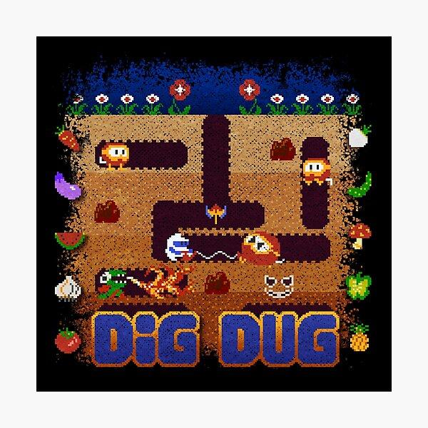 Dug Dig Photographic Print
