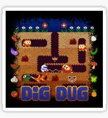 Dug Dig Sticker