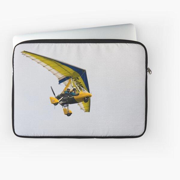 microlight in flight Laptop Sleeve