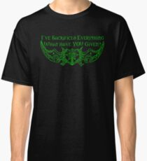 Sacrifice (Green) Classic T-Shirt