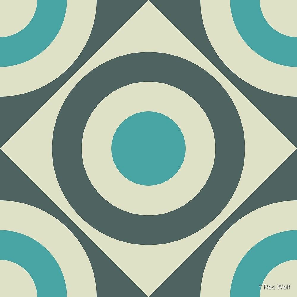 Geometric Pattern: Rondel Diamond: Waterlily by * Red Wolf