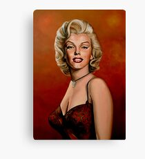 Marilyn Monroe 6 Painting Canvas Print