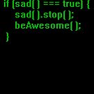 beAwesome Code Green by EsotericExposal