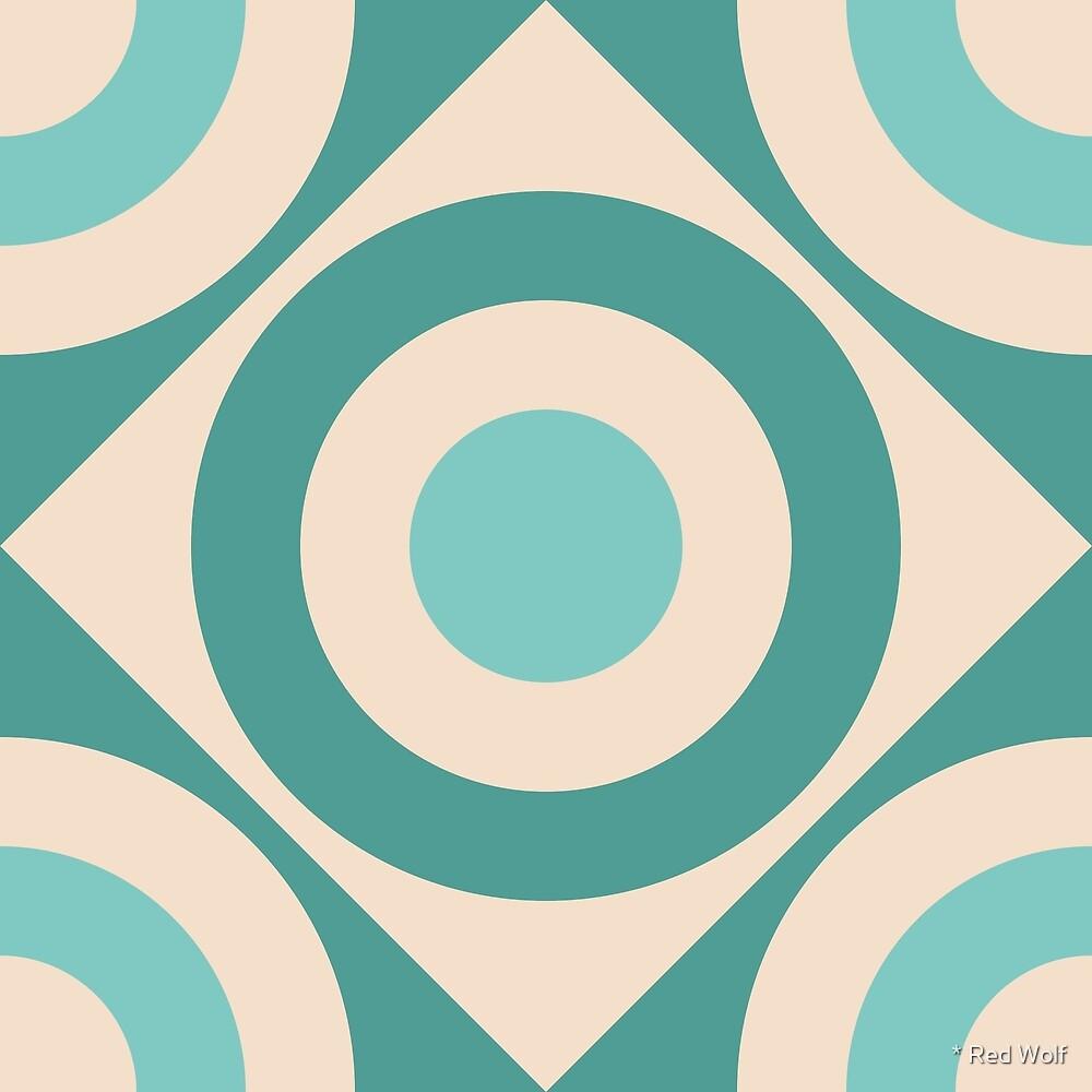 Geometric Pattern: Rondel Diamond: Lokesh by * Red Wolf
