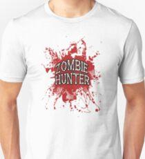 Zombie Hunter Red splatter T-Shirt