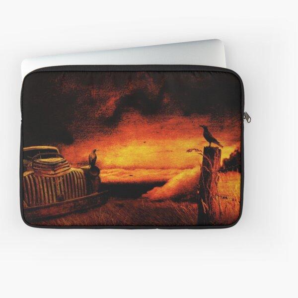 Truck Stop Hell, near Margate, Tasmania Laptop Sleeve