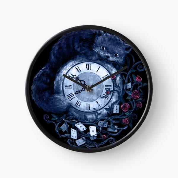 Time in Wonderland Clock